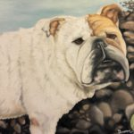 Jo Morris Dog painting