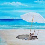 Jo Morris Paintings Beach chair