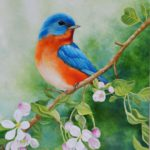 Jo Morris Paintings Little Bird