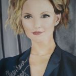 Jo Morris Paintings Buffy Signed By Actress
