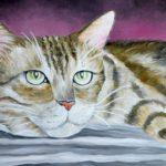 Jo Morris Paintings Cat