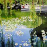 Jo Morris Paintings Chinese garden