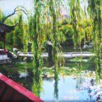 Jo Morris Paintings Chinese Garden 2