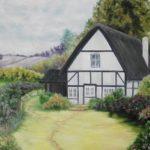 Jo Morris Paintings Cottage