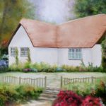 Jo Morris Paintings Cottage 2