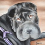 Jo Morris Paintings Dog 2