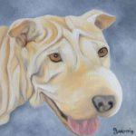 Jo Morris Paintings Dog 3