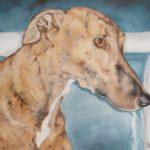 Jo Morris Paintings Greyhound 2