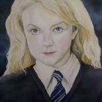 Jo Morris Paintings Harry Potter Lovegood signed