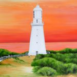 Jo Morris Paintings Lighthouse