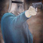 Jo Morris Paintings Ned Kelly