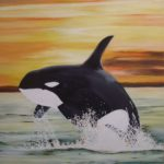 Jo Morris Paintings Orca