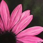 Jo Morris Paintings Pink Flower