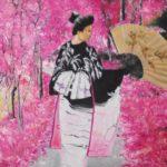 Jo Morris Paintings Pink Lady