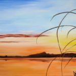 Jo Morris Paintings Sunset 2