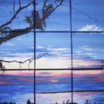Jo Morris Paintings Sunset 3