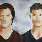 Jo Morris Paintings Supernatural Brothers