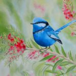 Jo Morris Paintings Wren Bird