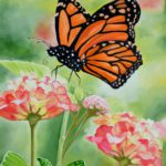 Jo morris paintings Butterfly