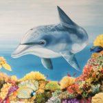 Jo morris paintings dolphin