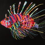 Jo morris paintings lion fish