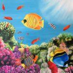jo morris paintings Fish