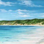Perth beach Myositis Jo morris paintings