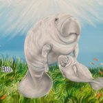 Jo Morris Paintings Dugong