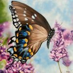 Butterfly Moment Jo Morris Paintings